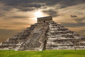 Piramide Maya Messico